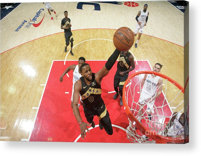 Playoffs Acrylic Print featuring the photograph C.j. Miles by Ned Dishman
