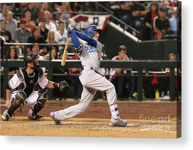 People Acrylic Print featuring the photograph Cody Bellinger by Christian Petersen