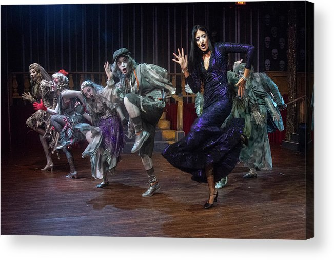Adams Family Acrylic Print featuring the photograph Dance With The Relatives by Alan D Smith