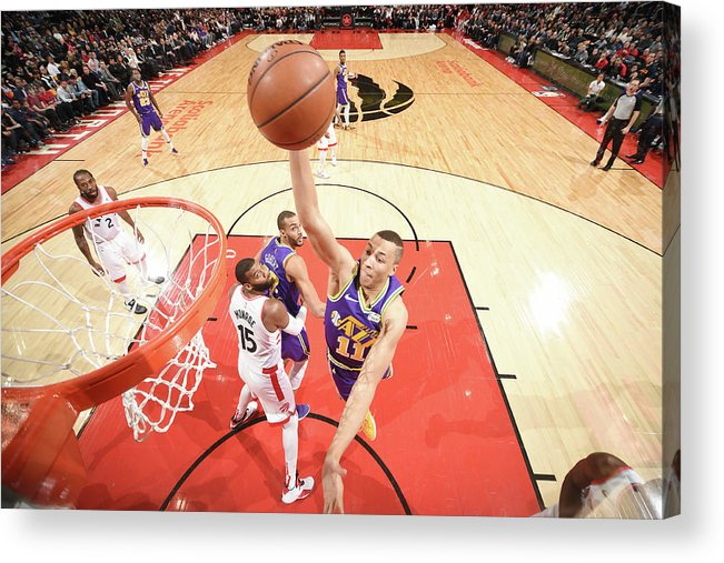 Nba Pro Basketball Acrylic Print featuring the photograph Dante Exum by Ron Turenne