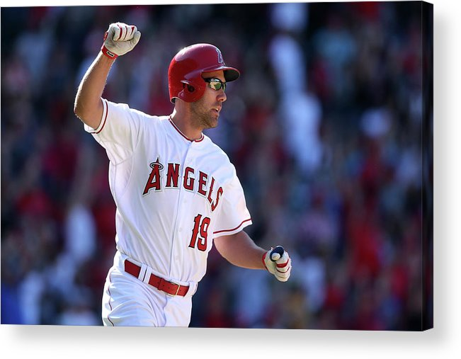 Three Quarter Length Acrylic Print featuring the photograph David Murphy by Stephen Dunn