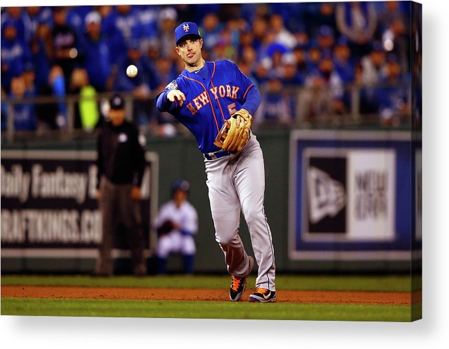 Second Inning Acrylic Print featuring the photograph David Wright by Jamie Squire