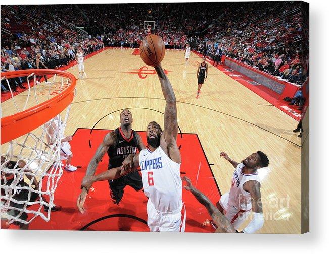 Nba Pro Basketball Acrylic Print featuring the photograph Deandre Jordan by Bill Baptist