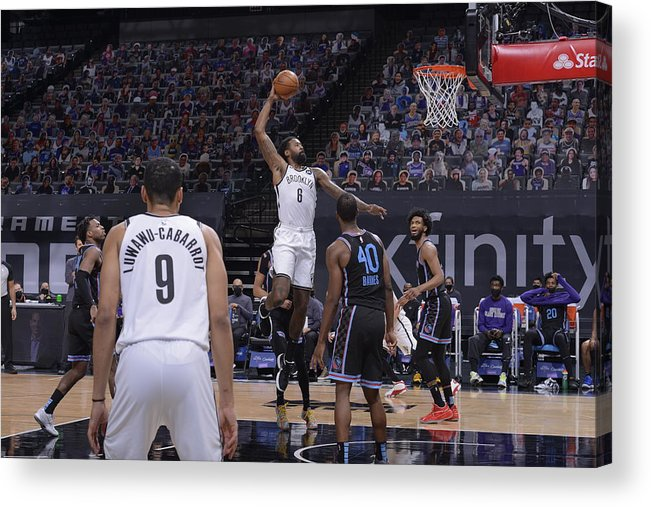 Nba Pro Basketball Acrylic Print featuring the photograph Deandre Jordan by Rocky Widner