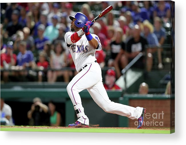 People Acrylic Print featuring the photograph Delino Deshields by Tom Pennington