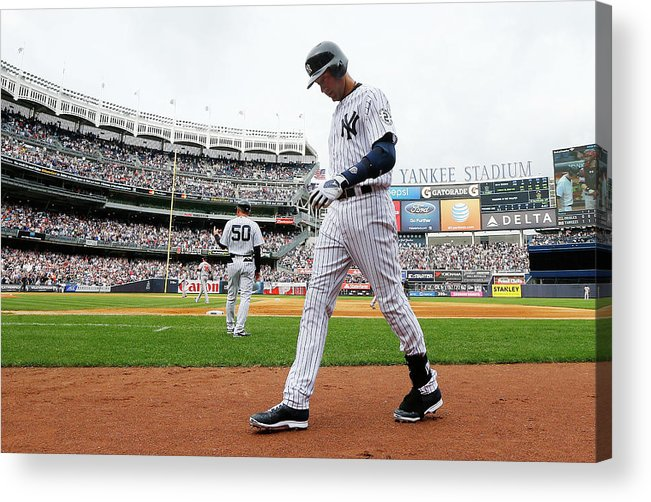 People Acrylic Print featuring the photograph Derek Jeter by Jim Mcisaac