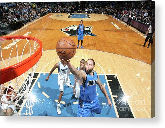 Nba Pro Basketball Acrylic Print featuring the photograph Deron Williams by David Sherman