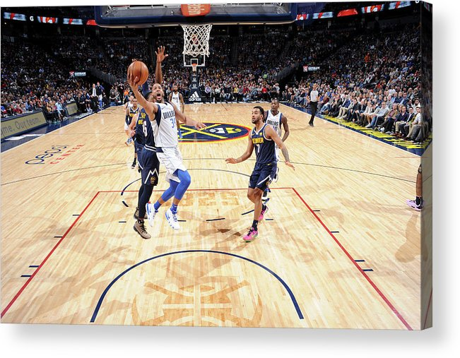 Nba Pro Basketball Acrylic Print featuring the photograph Devin Harris by Bart Young