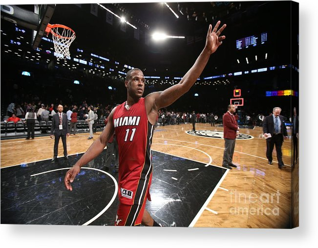 Nba Pro Basketball Acrylic Print featuring the photograph Dion Waiters by Nathaniel S. Butler
