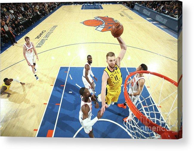 Nba Pro Basketball Acrylic Print featuring the photograph Domantas Sabonis by Nathaniel S. Butler
