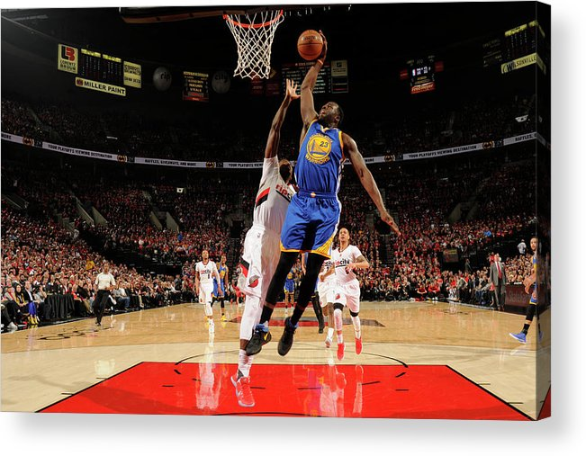 Playoffs Acrylic Print featuring the photograph Draymond Green by Cameron Browne