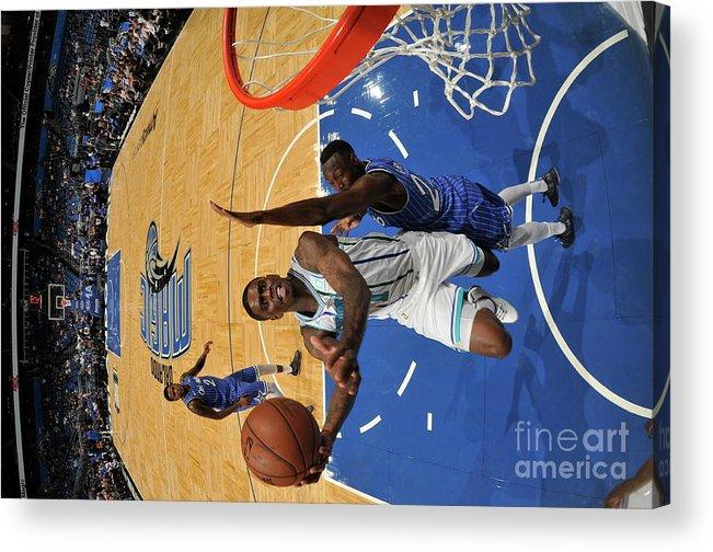 Nba Pro Basketball Acrylic Print featuring the photograph Dwayne Bacon by Fernando Medina