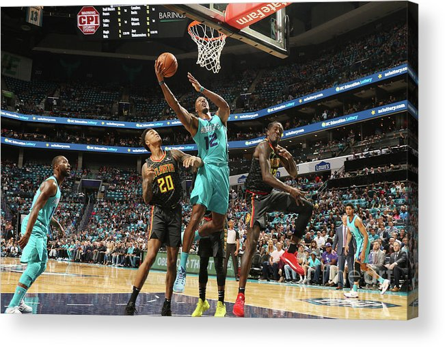 Nba Pro Basketball Acrylic Print featuring the photograph Dwight Howard by Brock Williams-smith