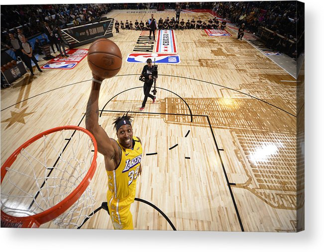 Nba Pro Basketball Acrylic Print featuring the photograph Dwight Howard by Jesse D. Garrabrant