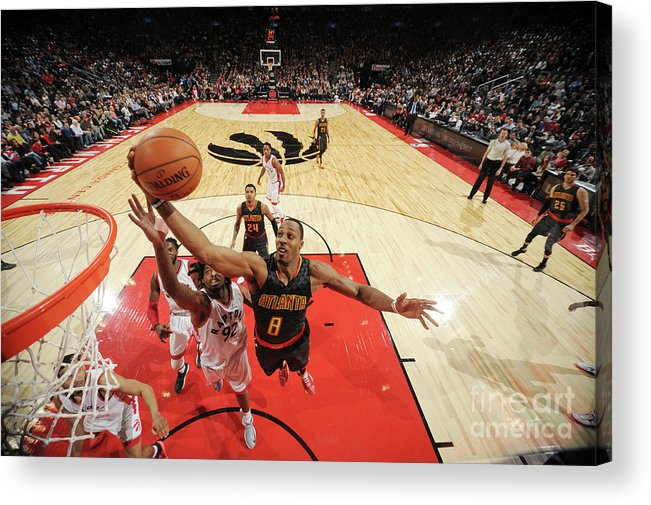 Nba Pro Basketball Acrylic Print featuring the photograph Dwight Howard by Ron Turenne
