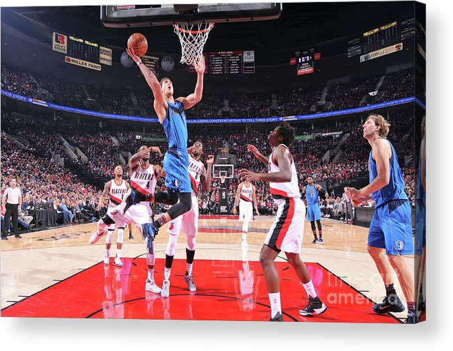Dwight Powell Acrylic Print featuring the photograph Dwight Powell by Sam Forencich