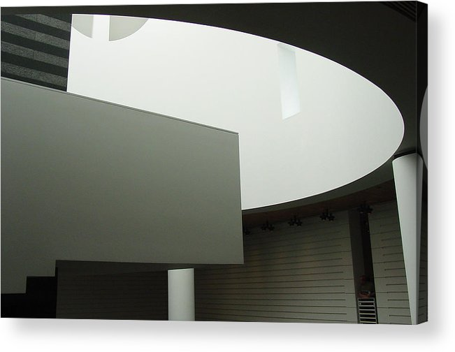 Sfmoma Acrylic Print featuring the photograph Form and Function by Suzanne Gaff