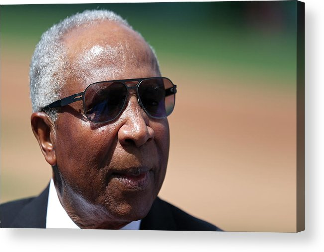 People Acrylic Print featuring the photograph Frank Robinson by Patrick Smith