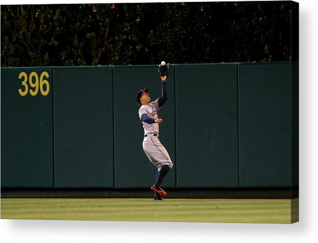 People Acrylic Print featuring the photograph George Springer by Stephen Dunn