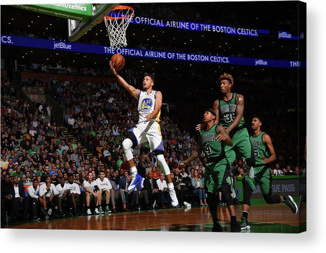 Nba Pro Basketball Acrylic Print featuring the photograph Gerald Green by Brian Babineau
