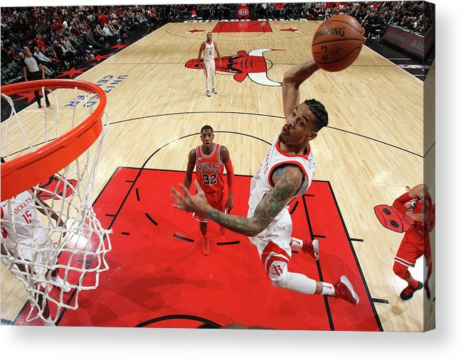 Nba Pro Basketball Acrylic Print featuring the photograph Gerald Green by Gary Dineen