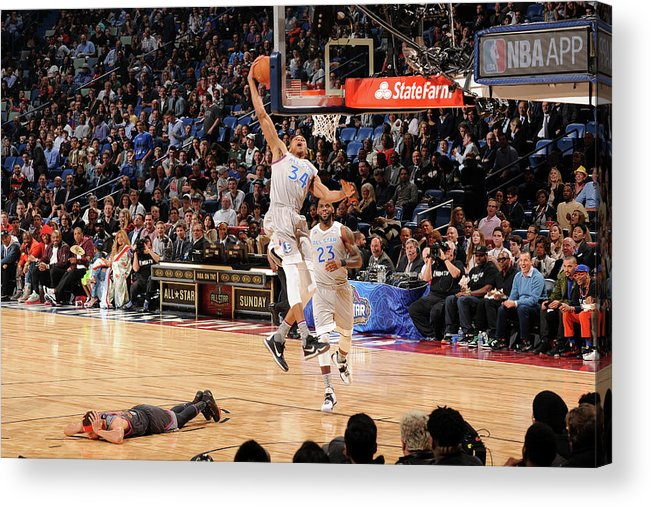Event Acrylic Print featuring the photograph Giannis Antetokounmpo by Andrew D. Bernstein
