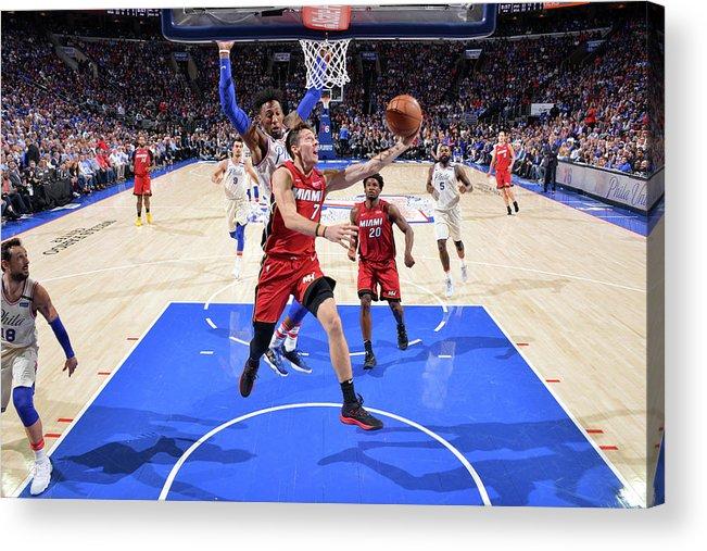 Playoffs Acrylic Print featuring the photograph Goran Dragic by Jesse D. Garrabrant