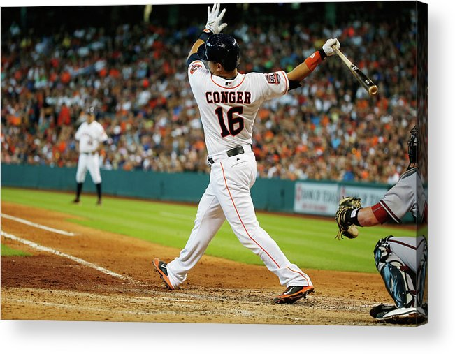 People Acrylic Print featuring the photograph Hank Conger by Scott Halleran