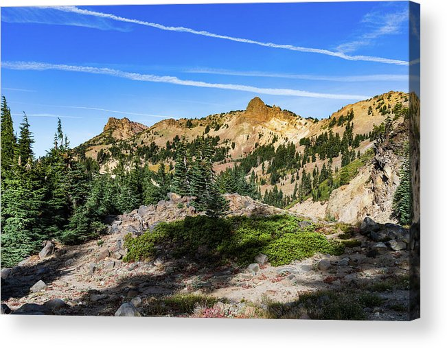 Mountains Acrylic Print featuring the photograph High Country by John Heywood