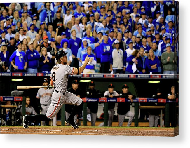 People Acrylic Print featuring the photograph Hunter Pence by Rob Carr