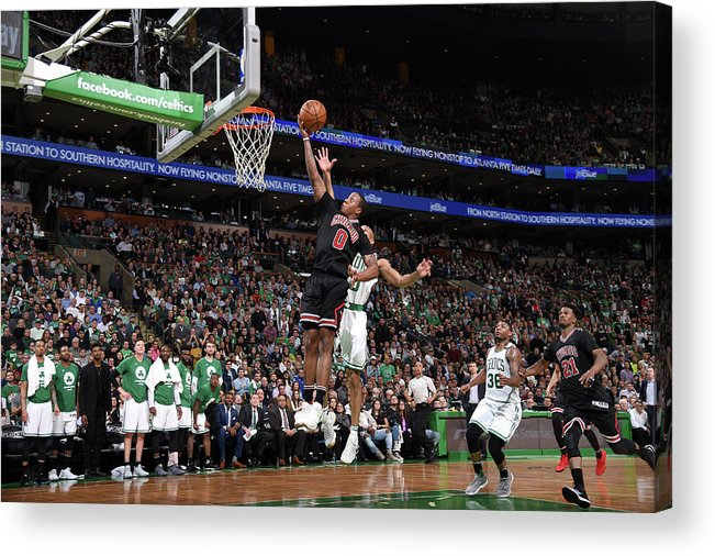 Playoffs Acrylic Print featuring the photograph Isaiah Canaan by Brian Babineau