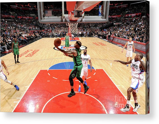 Nba Pro Basketball Acrylic Print featuring the photograph Isaiah Thomas by Andrew D. Bernstein