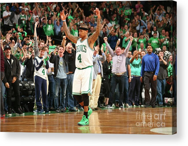 Playoffs Acrylic Print featuring the photograph Isaiah Thomas by Ned Dishman