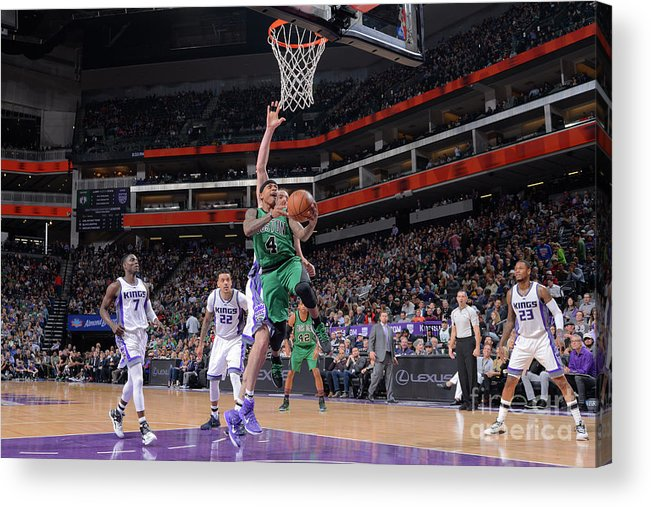 Nba Pro Basketball Acrylic Print featuring the photograph Isaiah Thomas by Rocky Widner