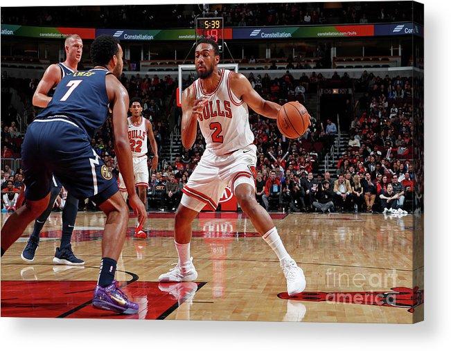 Nba Pro Basketball Acrylic Print featuring the photograph Jabari Parker by Jeff Haynes