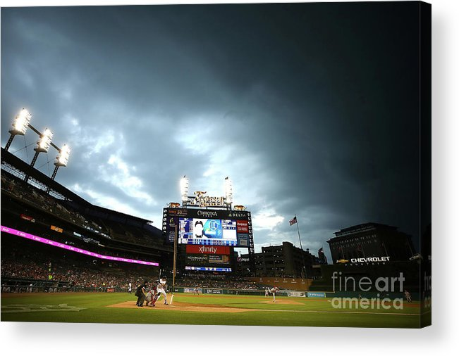 People Acrylic Print featuring the photograph Jacoby Jones by Gregory Shamus