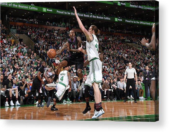 Nba Pro Basketball Acrylic Print featuring the photograph Jamal Crawford by Brian Babineau