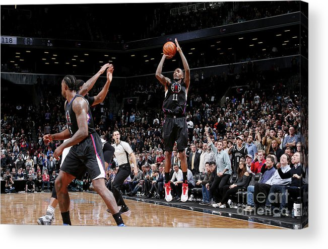 Nba Pro Basketball Acrylic Print featuring the photograph Jamal Crawford by Nathaniel S. Butler