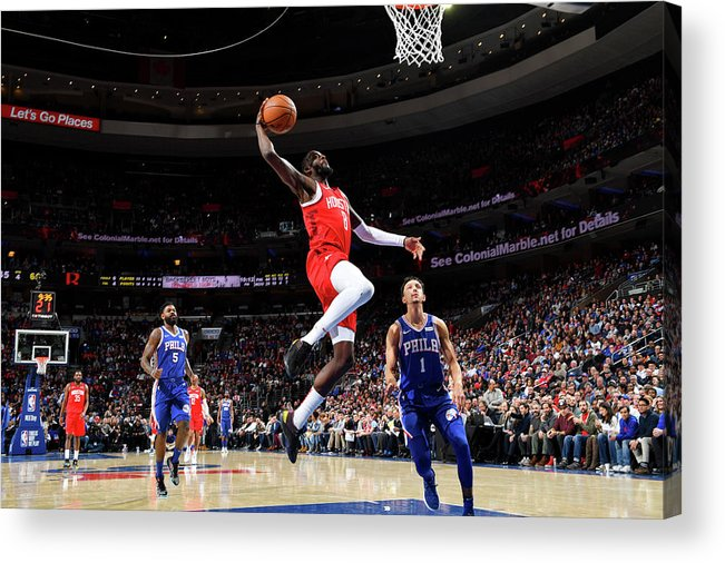 Nba Pro Basketball Acrylic Print featuring the photograph James Ennis by Jesse D. Garrabrant