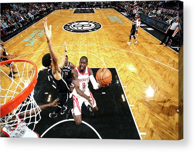 Nba Pro Basketball Acrylic Print featuring the photograph James Ennis by Nathaniel S. Butler