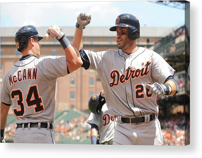 People Acrylic Print featuring the photograph James Mccann by Mitchell Layton
