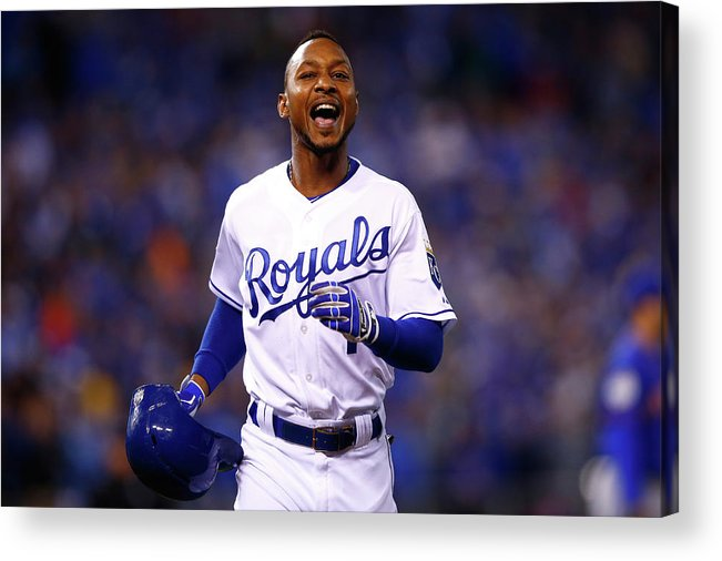 Three Quarter Length Acrylic Print featuring the photograph Jarrod Dyson by Jamie Squire