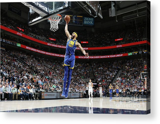 Nba Pro Basketball Acrylic Print featuring the photograph Javale Mcgee by Melissa Majchrzak