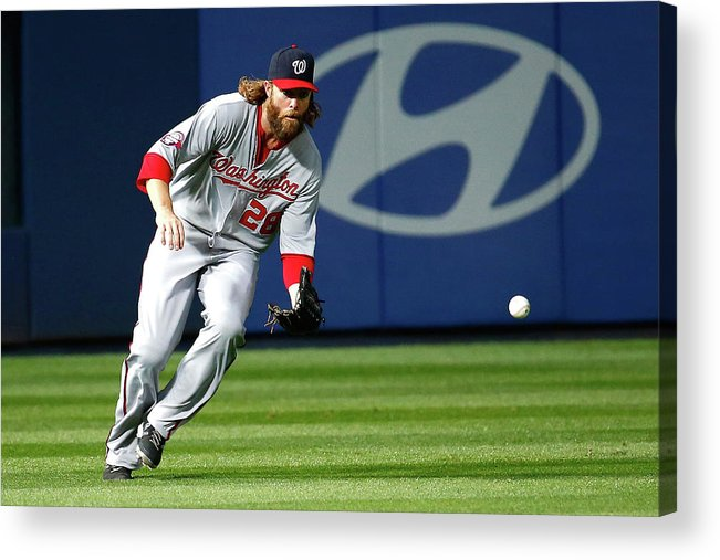 Atlanta Acrylic Print featuring the photograph Jayson Werth by Kevin C. Cox