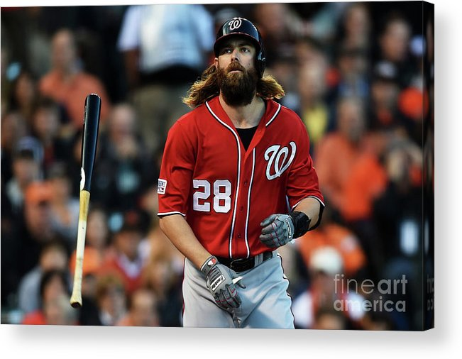 San Francisco Acrylic Print featuring the photograph Jayson Werth by Thearon W. Henderson