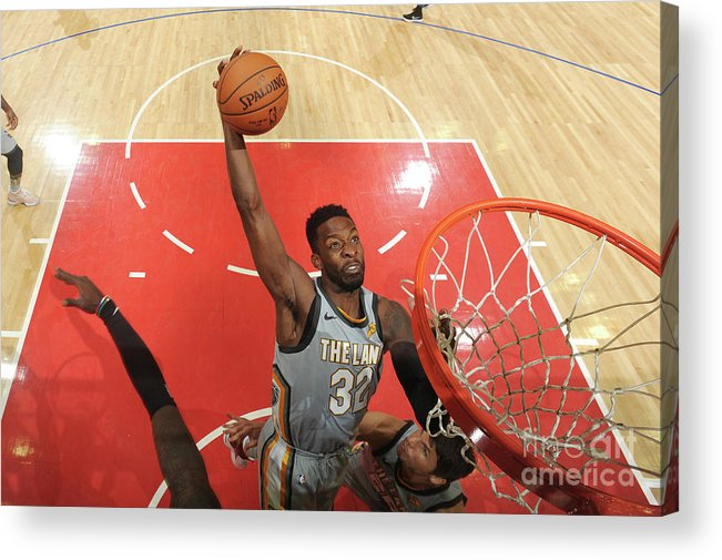 Nba Pro Basketball Acrylic Print featuring the photograph Jeff Green by Andrew D. Bernstein