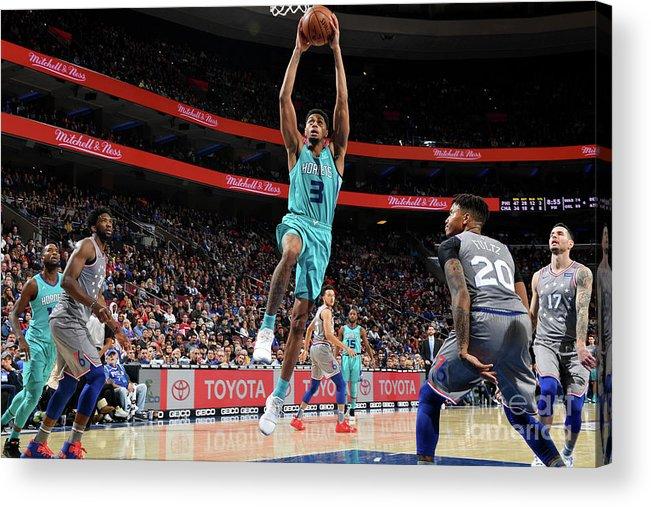 Nba Pro Basketball Acrylic Print featuring the photograph Jeremy Lamb by Jesse D. Garrabrant