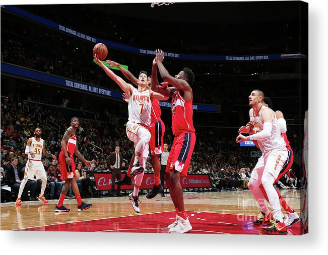 Nba Pro Basketball Acrylic Print featuring the photograph Jeremy Lin by Ned Dishman
