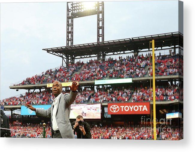 People Acrylic Print featuring the photograph Jimmy Rollins by Rich Schultz