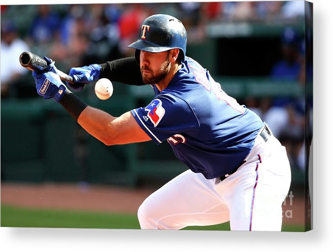 Three Quarter Length Acrylic Print featuring the photograph Joey Gallo by Ron Jenkins